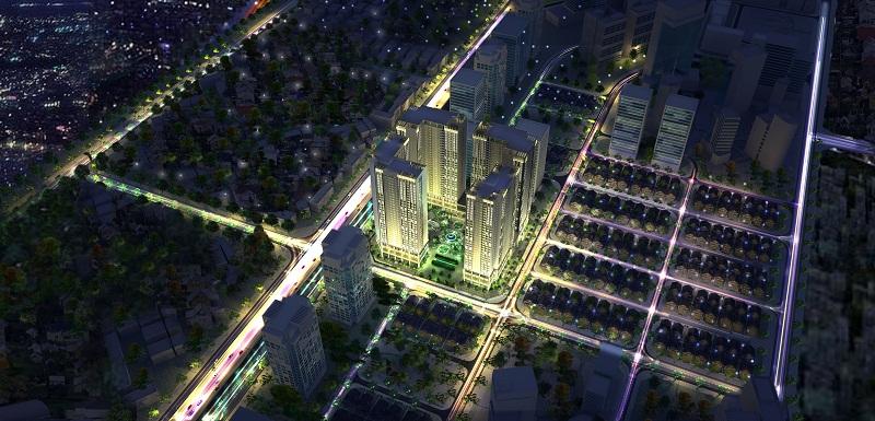 eco green city  1435860009 Tổng quan và quy mô khu phức hợp Eco Green City