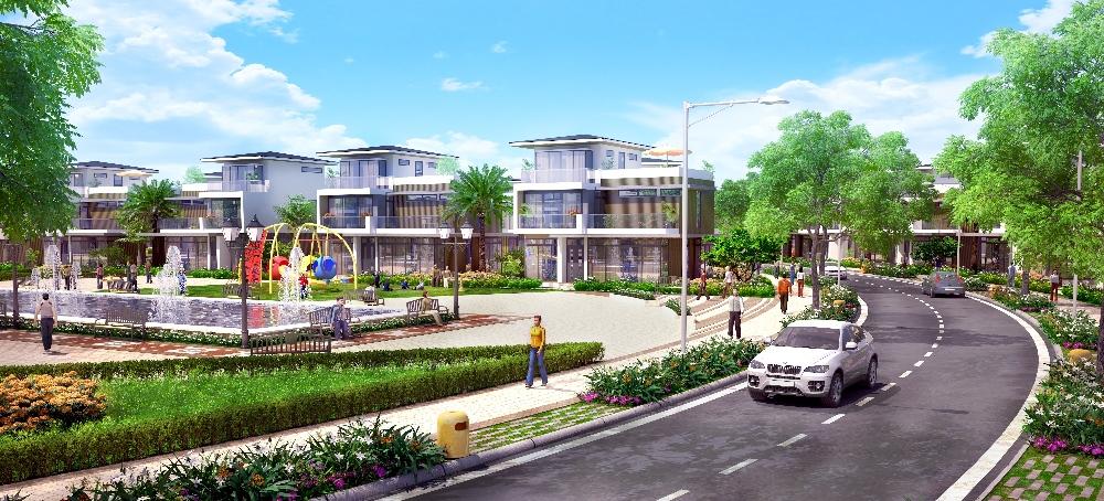 Khu biệt thự cao cấp dự án the viva city