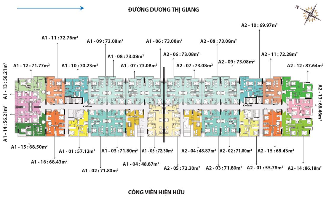 matbangtongthe 1460043194 Tổng quan và quy mô khu căn hộ Depot Metro Tham Lương