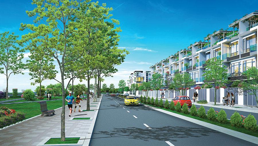 dkraduankhunhaovensongnamphatphoicanh6 1460740025 Tổng quan và quy mô khu nhà ở ven sông Nam Phát
