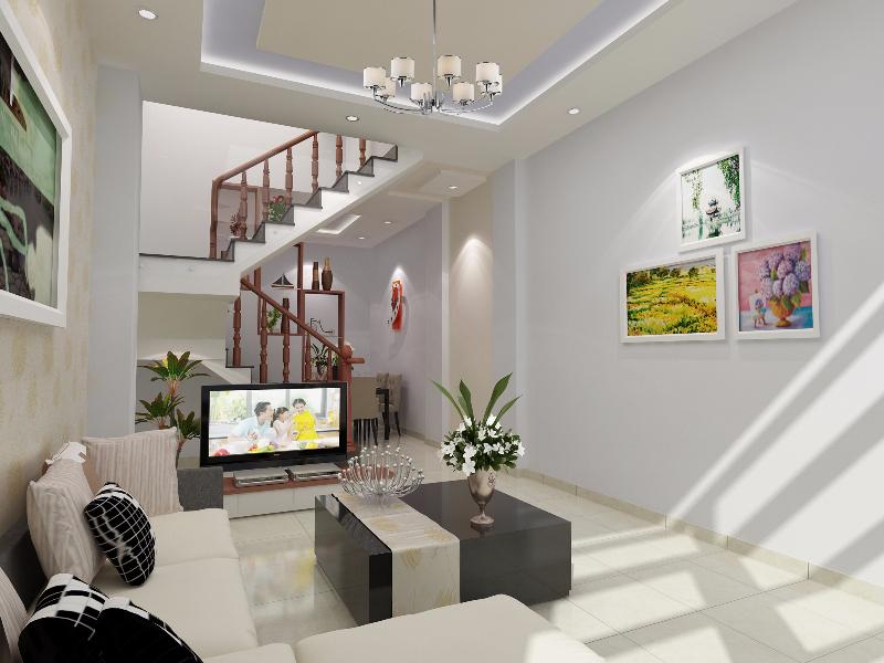 khach bep view 2 1460733705 Tổng quan và quy mô khu nhà phố VX Home Tx38