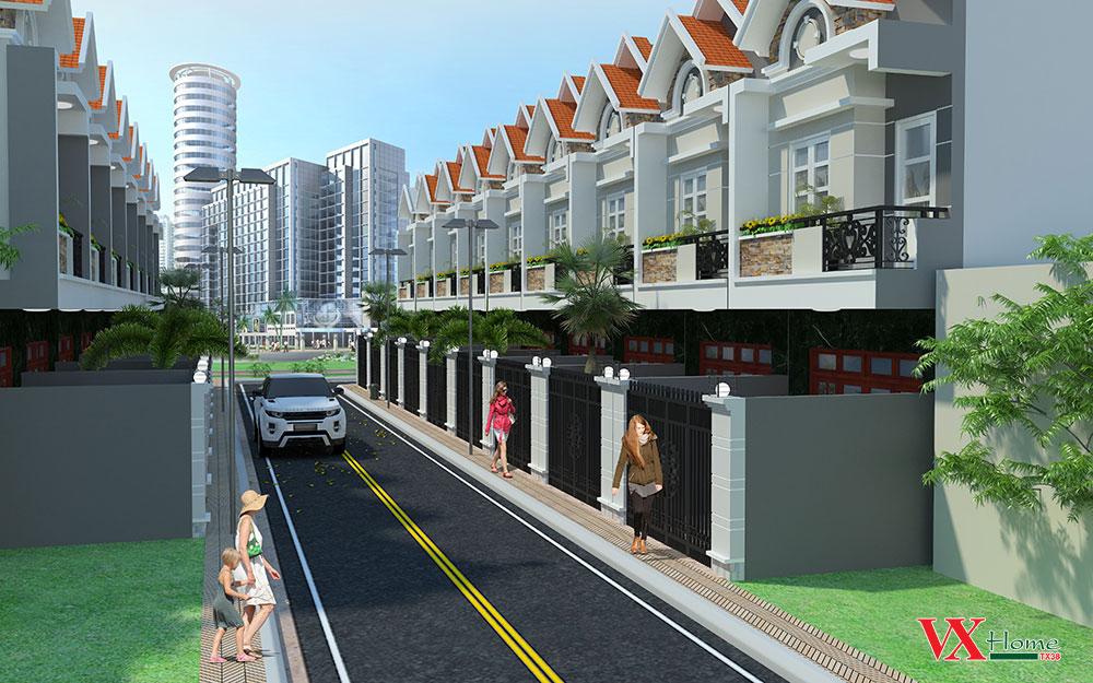 pctx3802 1460733251 Tổng quan và quy mô khu nhà phố VX Home Tx38