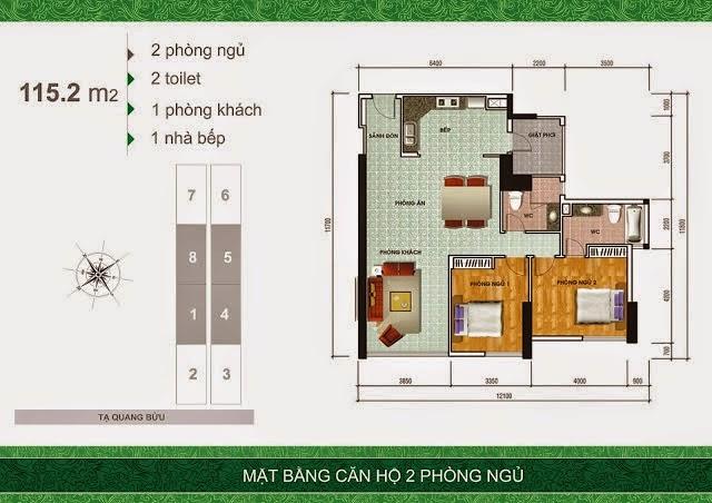 2pn 1460993875 Tổng quan và quy mô khu căn hộ cao cấp Samland Giai Việt