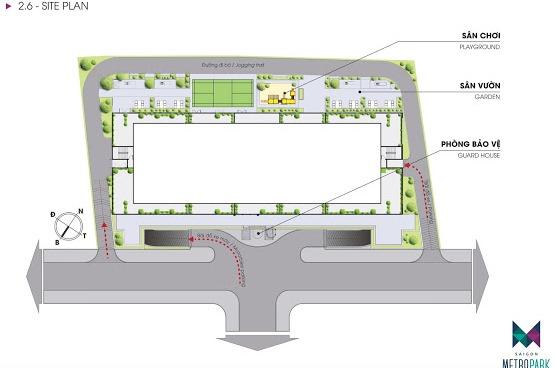 mat bang tret sai gon metro park thu duc 1463136551 Tổng quan và quy mô khu căn hộ Saigon Metro Park