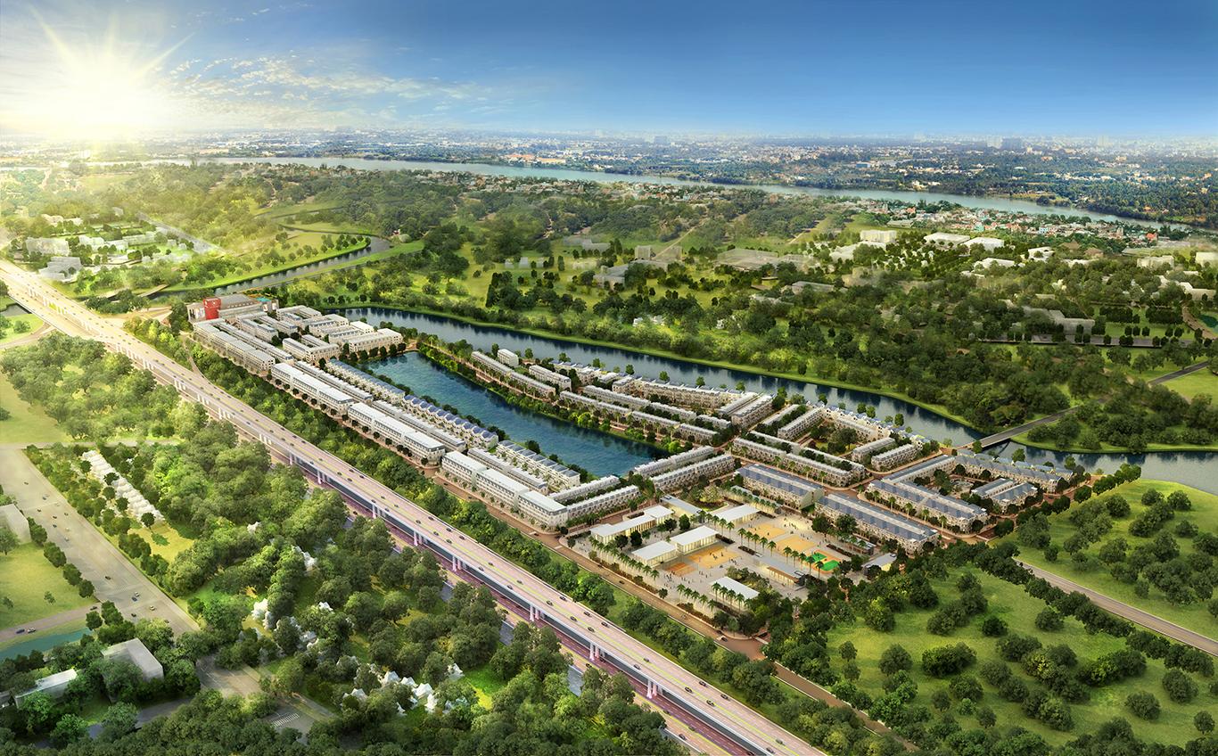 Quy mô dự án lakeview city quận 2