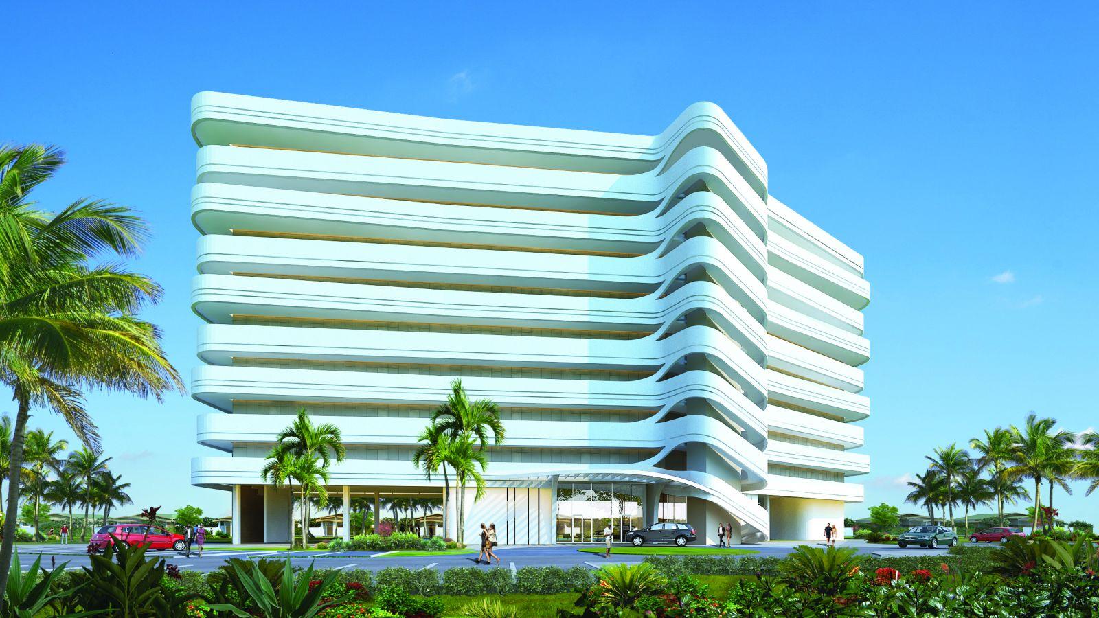 mô hình dự án Mövenpick Cam Ranh Resort