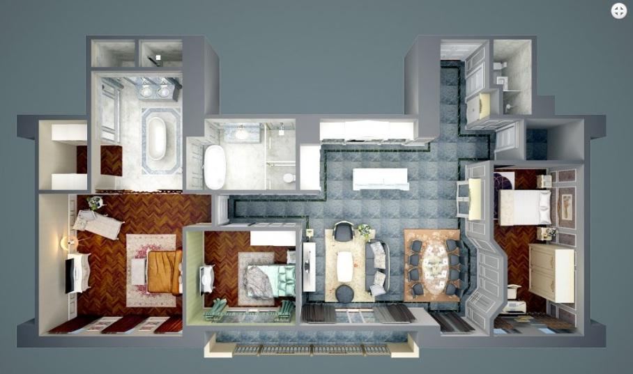 matbangcanho 1469786057 Tổng quan dự án khu căn hộ D'.Palais de Louis