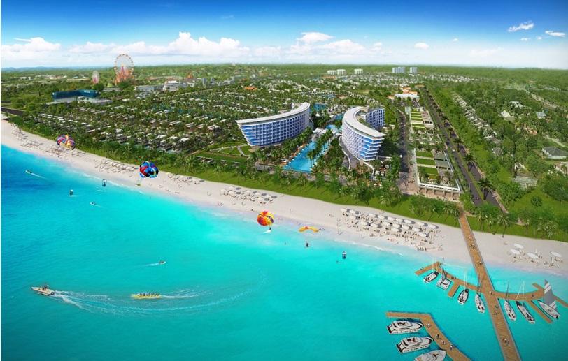 Quy mô dự án biệt thự Grand World Phú Quốc