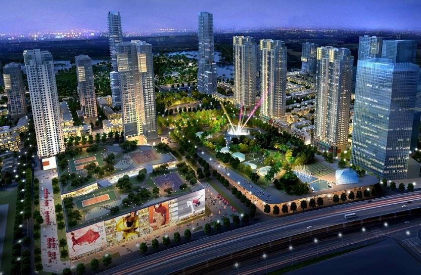 hinh2 1476347477 Tổng quan dự án khu đô thị The Manor Central Park