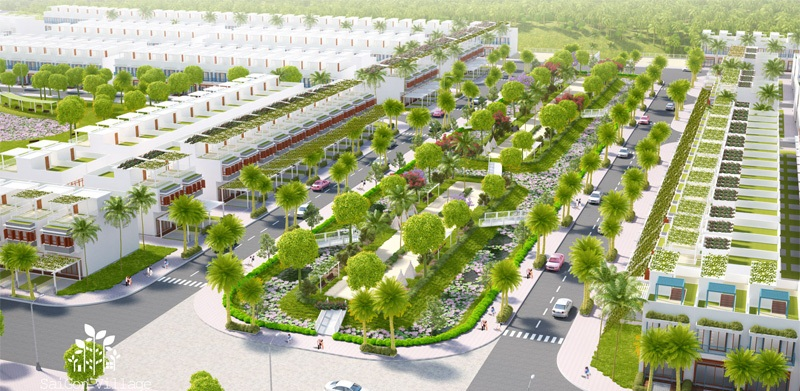 khucamtraitaiduansaigonvillagelonghau 1476808282 Tổng quan dự án dự án nhà phố SaiGon Village