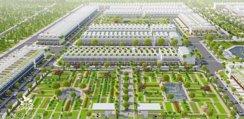 quangtruonghanhphuctaiduansaigonvillagelonghau05 1476808805 Tổng quan dự án dự án nhà phố SaiGon Village
