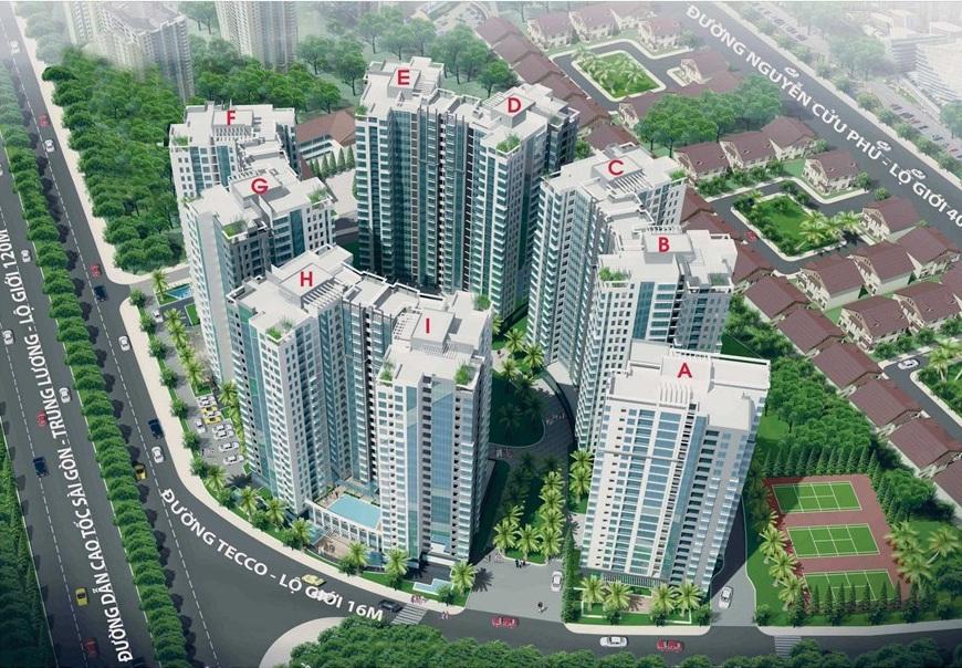 tecco town 1478625203 Tổng quan và quy mô khu căn hộ Tecco Town Bình Tân
