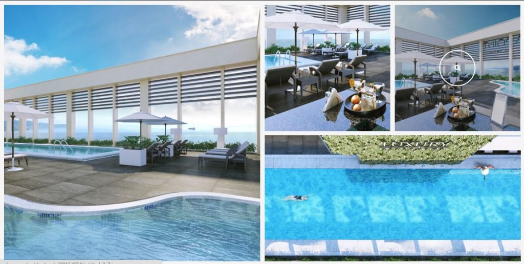 tienichluxuryapartmentdanangbeboi1024x516 1478789956 Tổng quan dụ án tổ hợp Four Points by Sheraton & Luxury Apartment Đà Nẵng