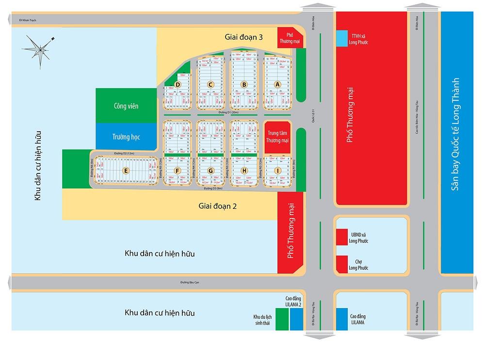 phanloairlinkcity9 11 1479993355 Tổng quan và quy mô khu đô thị thương mại Airlink City