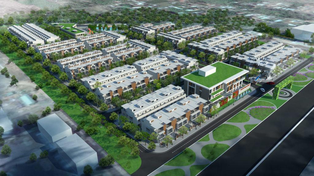 phoicanhtongtheairlinkcity21024x576 1479993233 Tổng quan và quy mô khu đô thị thương mại Airlink City
