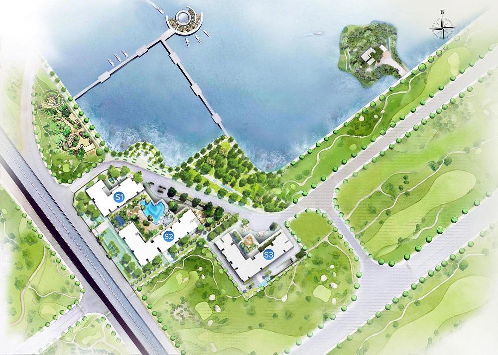 Mặt bằng tổng thể dự án căn hộ Vinhomes Skylake Phạm Hùng