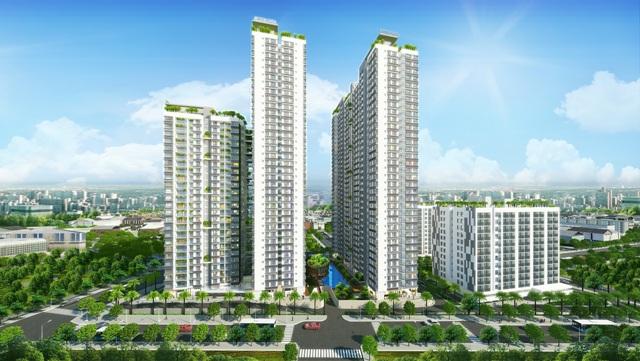 Quy mô dự án căn hộ The Western  Capital