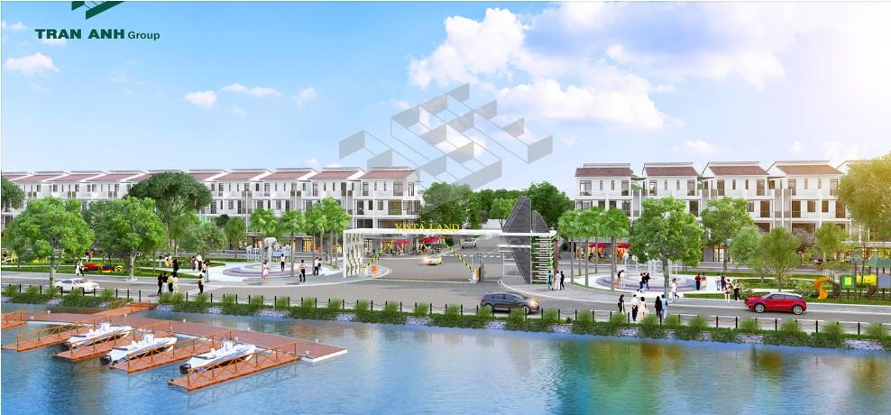 Quy mô dự án đất nền Vista Land City long an