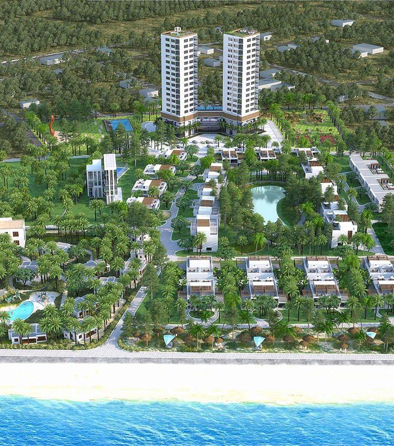 Quy mô dự án biệt thự Zenna Villas Long Hải