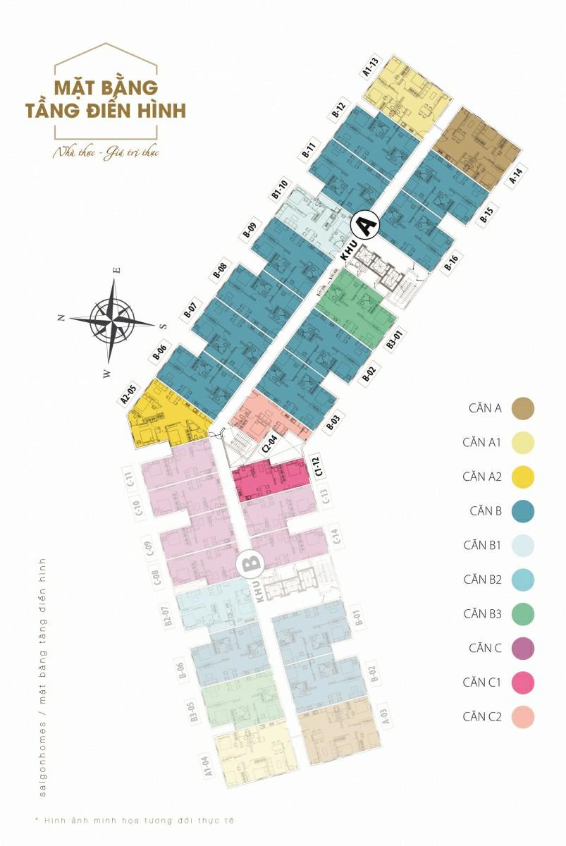 Thông tin cần biết về khu chung cư Sài Gòn Homes Bình Tân