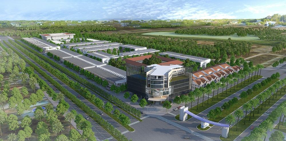 Phối cảnh toàn dự án đất nền Western City