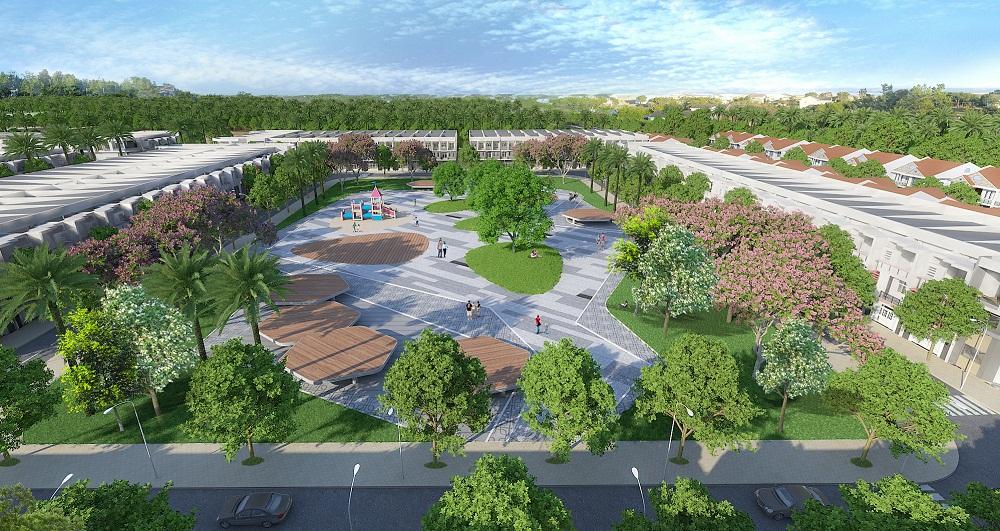Công viên nội khu dự án Western City