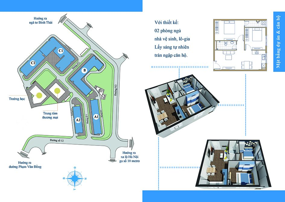 Thiết kế căn hộ Chương Dương Home