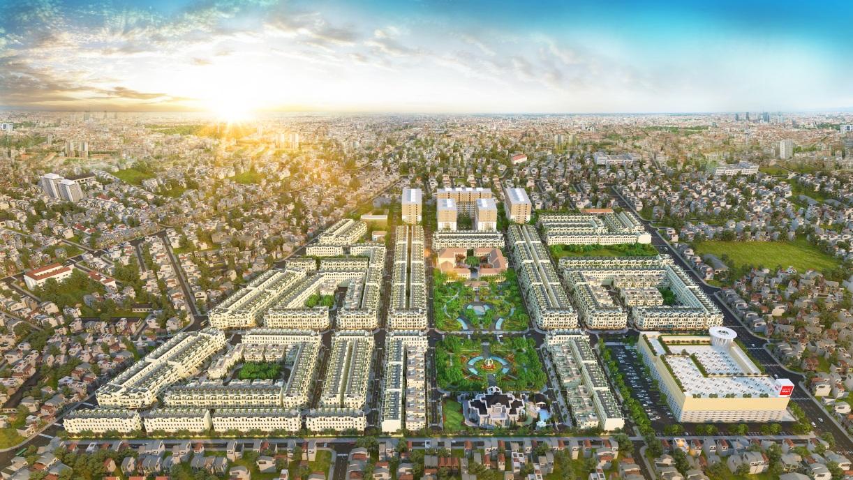 Quy mô dự án CityLand Park Hills Gò Vấp