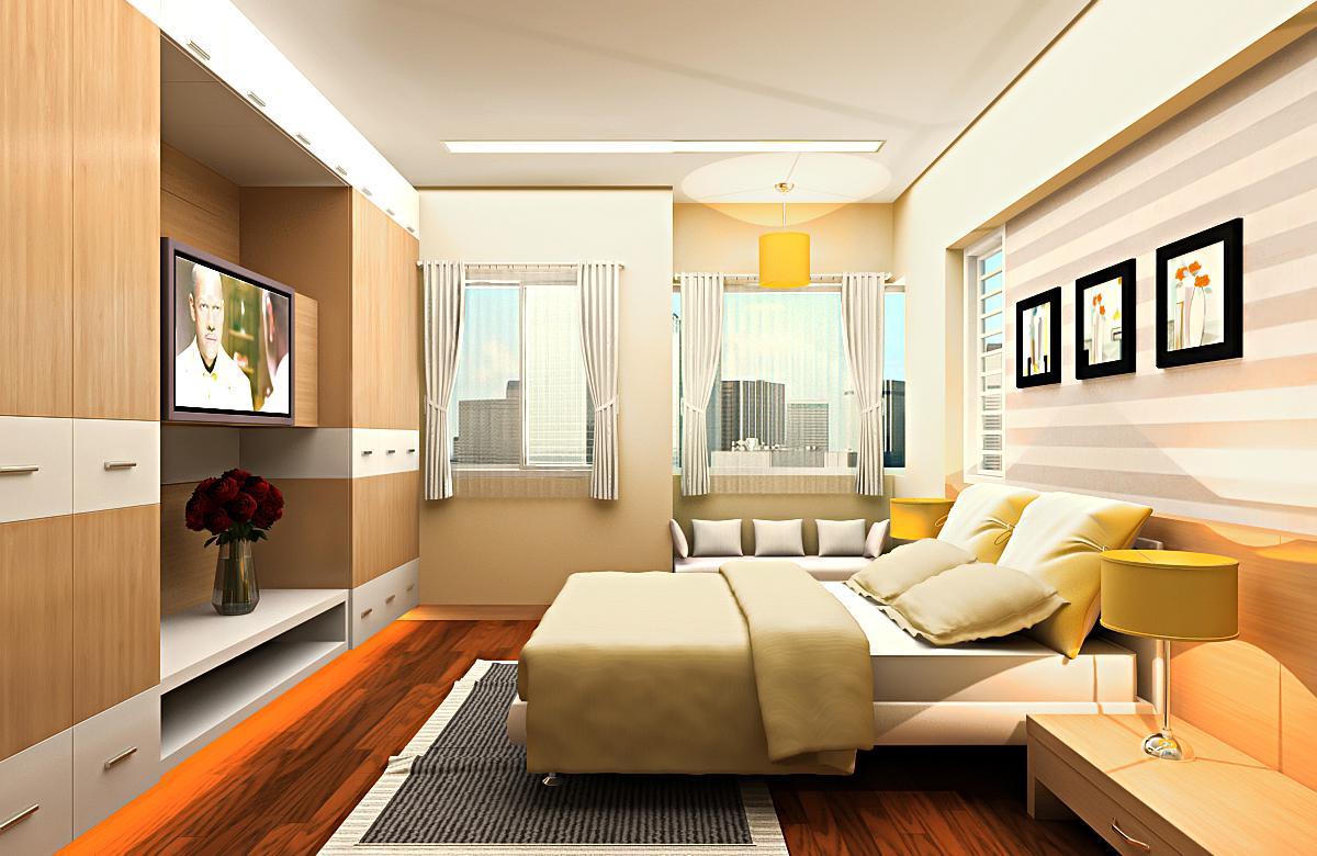 Thiết kế căn hộ tại dự án 152 Điện Biên Phủ