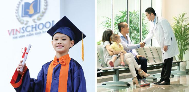 Hệ thống giáo dục đẳng cấp với trường liên cấp Vinschool