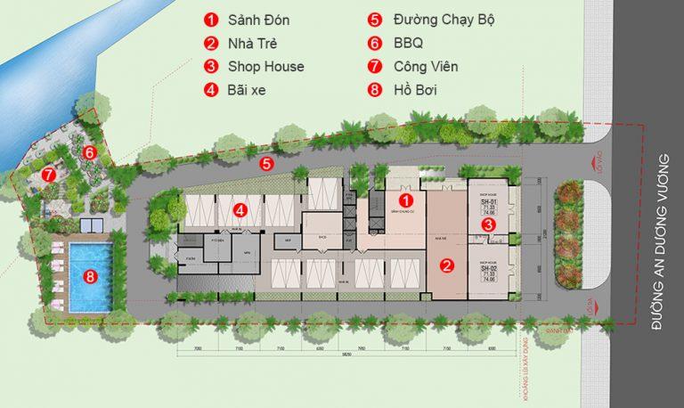 Dự án căn hộ thông minh West Intela Quận 8