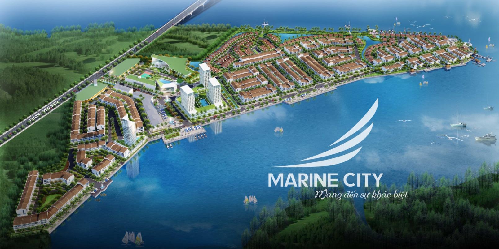 Quy mô dự án đất nền Marine City Vũng Tàu