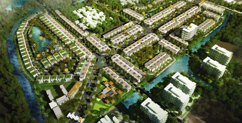 Quy mô dự án khu đô thị Dragon Village