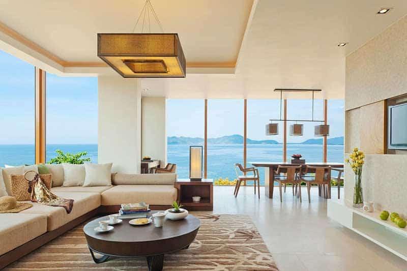 Nội thất căn hộ Sunshine Marina Nha Trang Bay