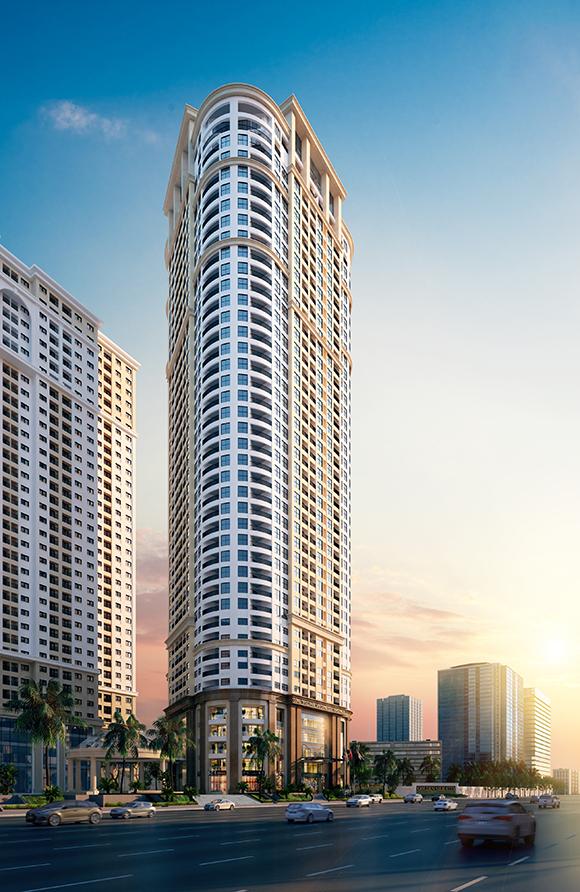 Quy mô dự án căn hộ chung cư VC2 Golden Heart