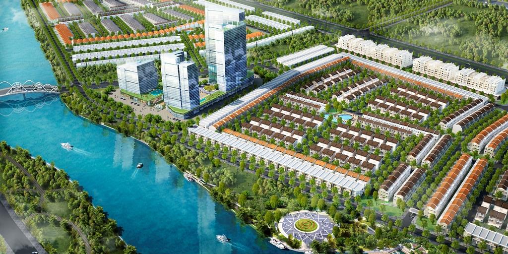 Quy mô dự án oasis city bình dương