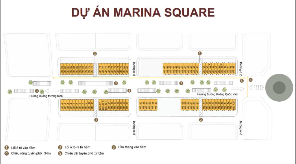 Căn hộ và khách sạn Marina Square Hạ Long
