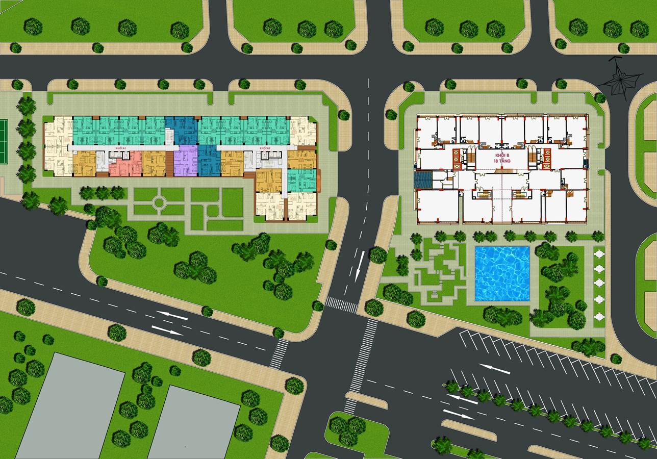 Mô hình dự án căn hộ CTL Tower Tham Lương Quận 12