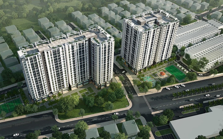 Quy mô dự án căn hộ CTL Tower Tham Lương Quận 12