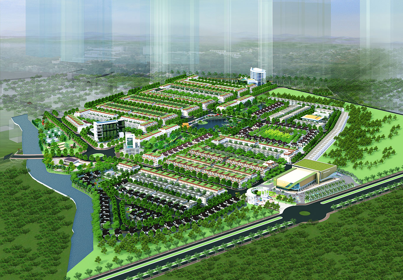 Quy mô dự án Five Star Eco City Long An