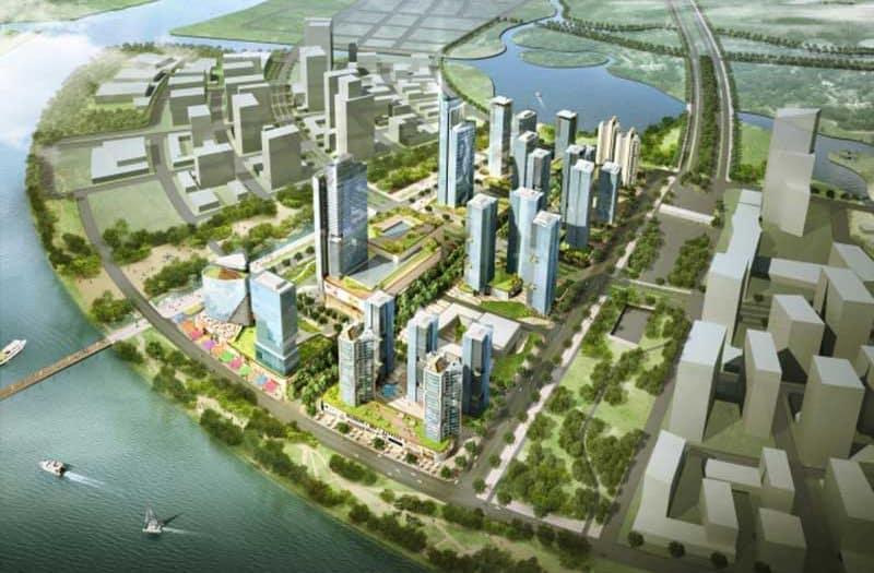 Phoi canh Eco Smart City Thu Thiem quan 2