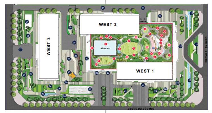 Quy mô dự án căn hộ Vinhomes West Point Hà Nội