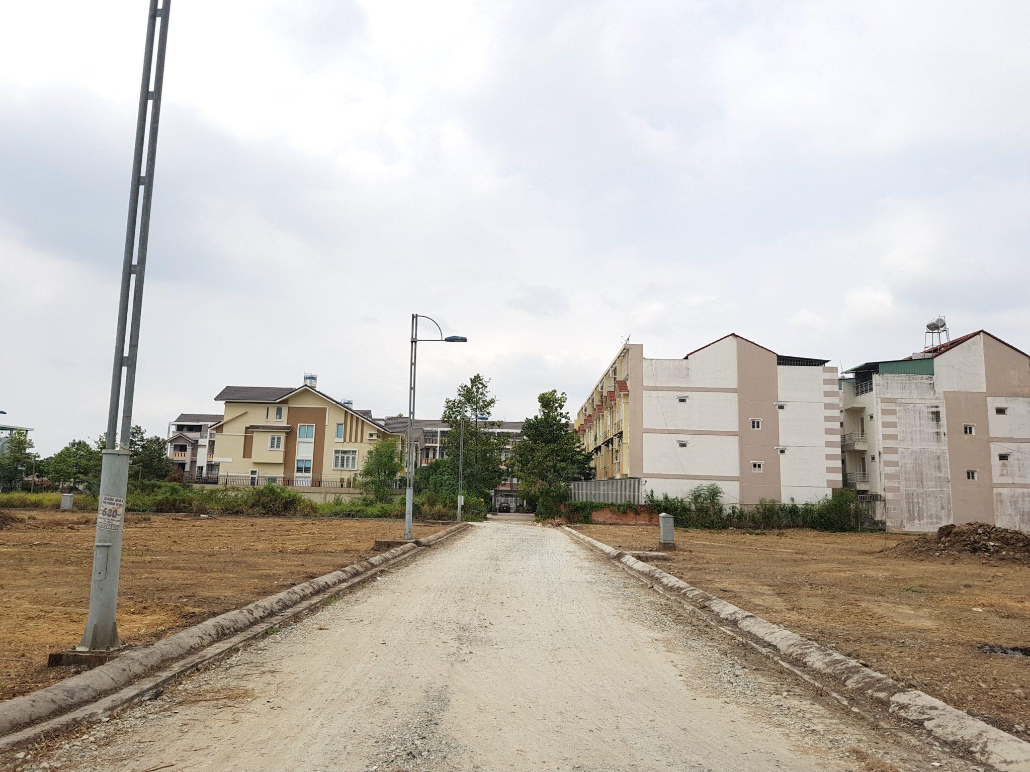 Hình ành thực tế tiến độ thi công Bien Hoa New Town 2 Đồng Nai (tháng 4/2018)