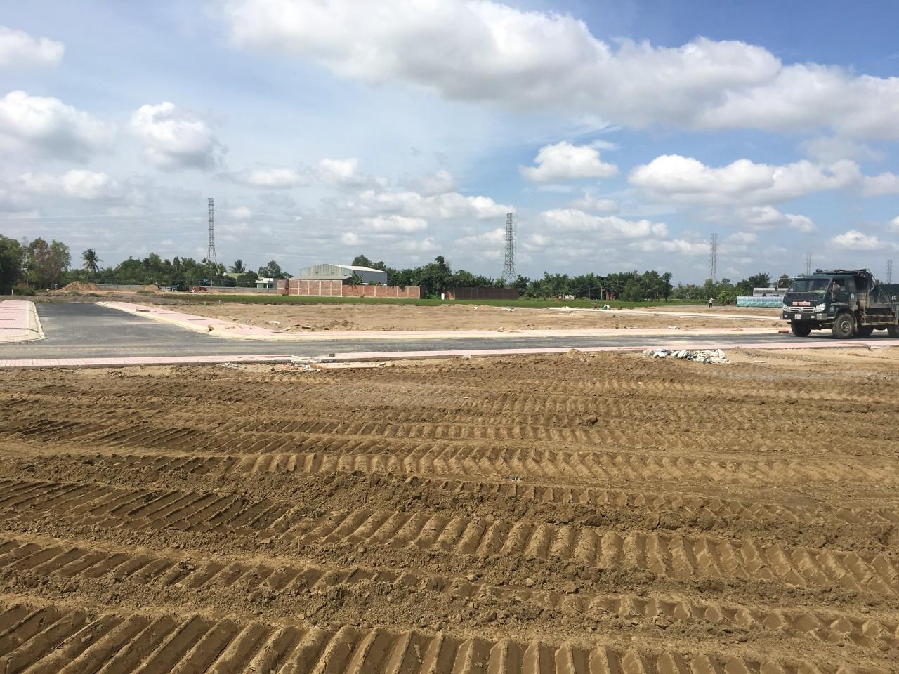 Hình ảnh thực tế dự án Tân Lân Riverside Long An
