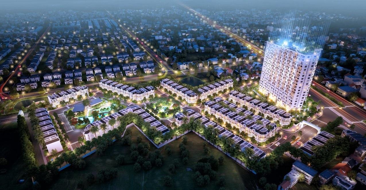 Phối cảnh khu dân cư Long Phú Residence Long An
