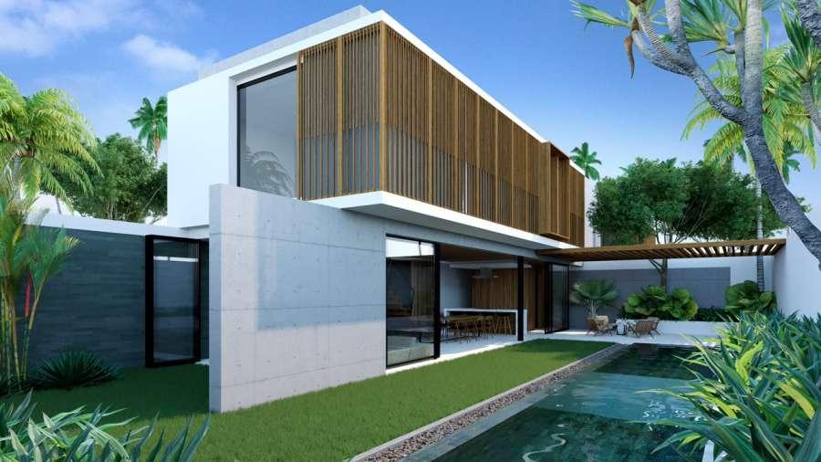 Phối cảnh biệt thự loại A tại dự án Sailing Club Resort Phu Quoc