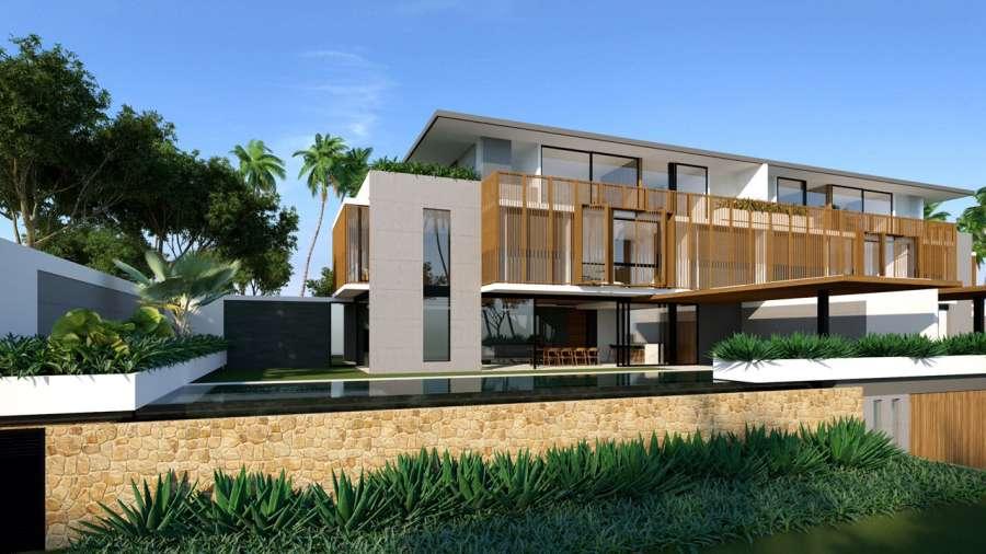 Phối cảnh biệt thự loại D tại dự án Sailing Club Resort Phu Quoc