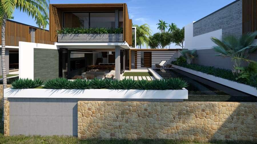 Phối cảnh biệt thự loại E tại dự án Sailing Club Resort Phu Quoc