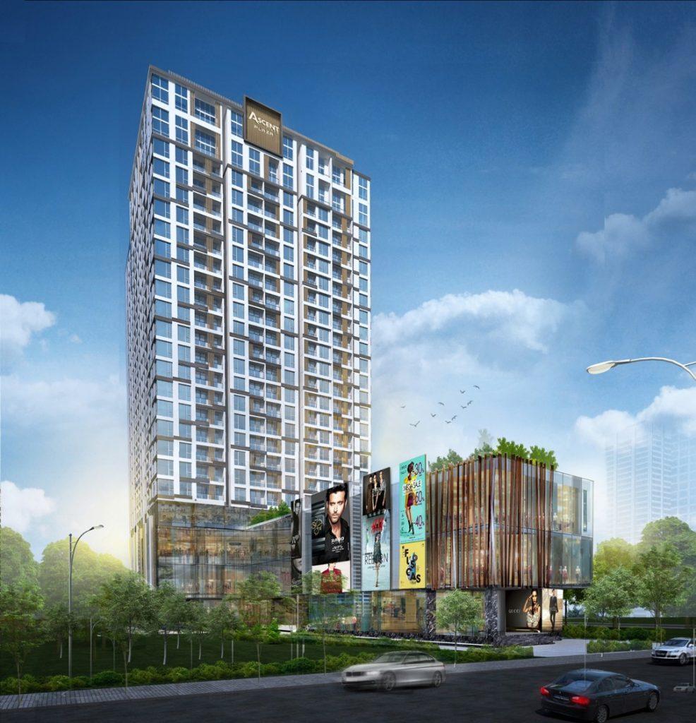 Phối cảnh dự án căn hộ Ascent Plaza quận Bình Thạnh