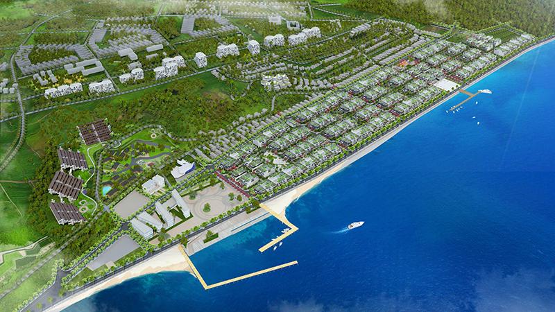 Phối cảnh tổng thể dự án Hamubay Phan Thiết